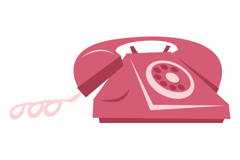 Illustration Telefon