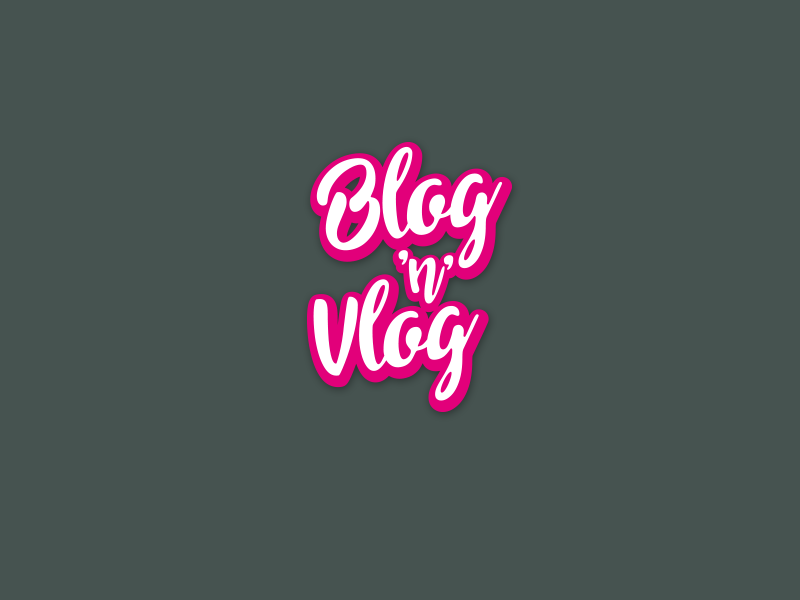 Logotype Blog 'n Vlog'